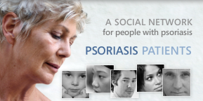 Social network for psoriasis patients
